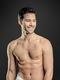 male breast reduction - model 01