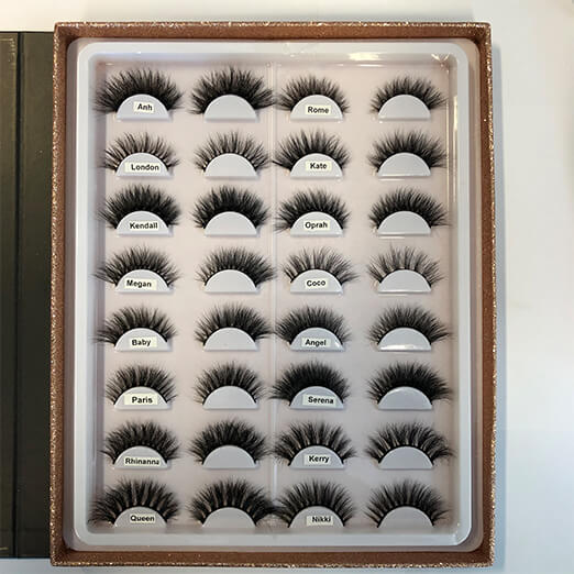 Lashboss by Dr Anh Signature Lashes – Book of 16 Pairs
