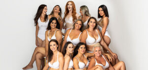 Breast reduction surgery, group photo of Dr Anh's patients 01