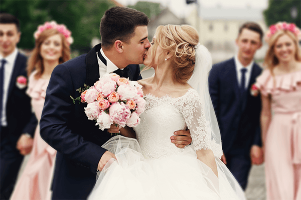 Happy couple get married | Dr Anh